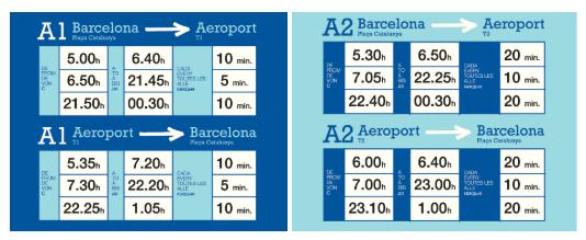 Aerobús Schedule