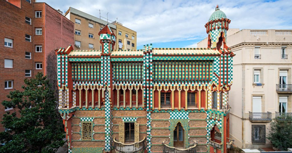 Casa Vicens is one of the Best Things to do in Barceloan