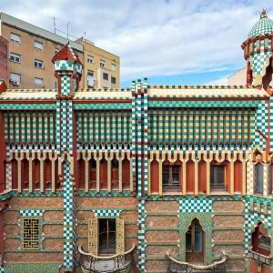 Casa Vicens online ticket heads