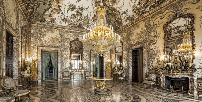@Patrimonio Nacional. Royal Palace of Madrid, Gasparini Room