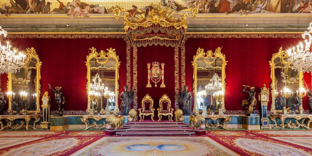 @Patrimonio Nacional. Royal Palace of Madrid