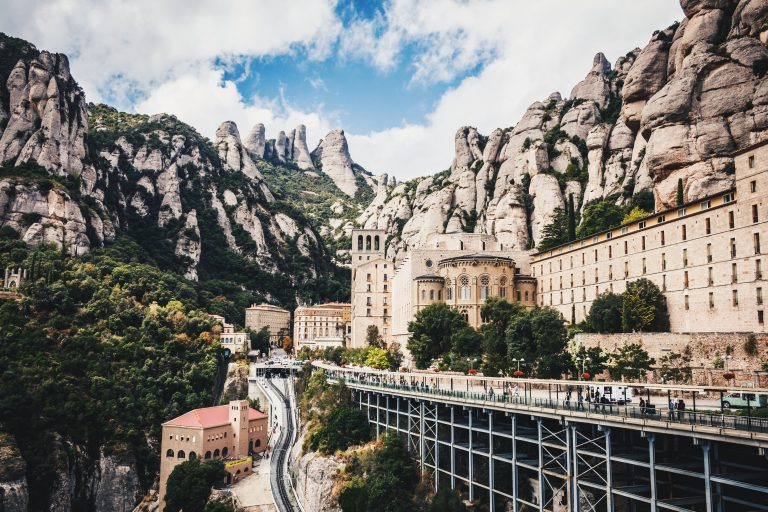 Train to Montserrat from Barcelona header