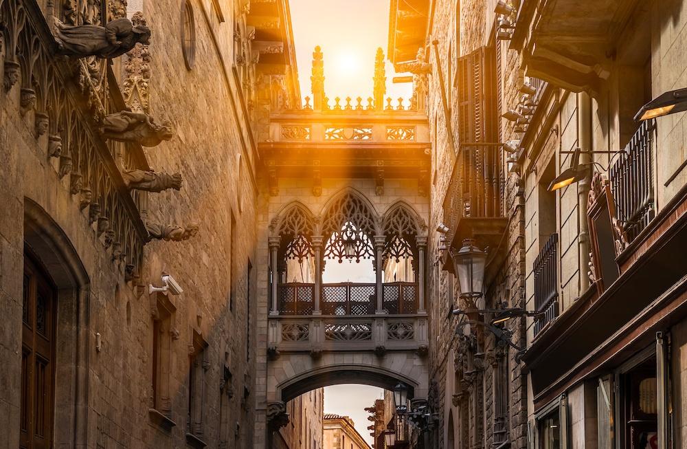 Gothic Quarter evening