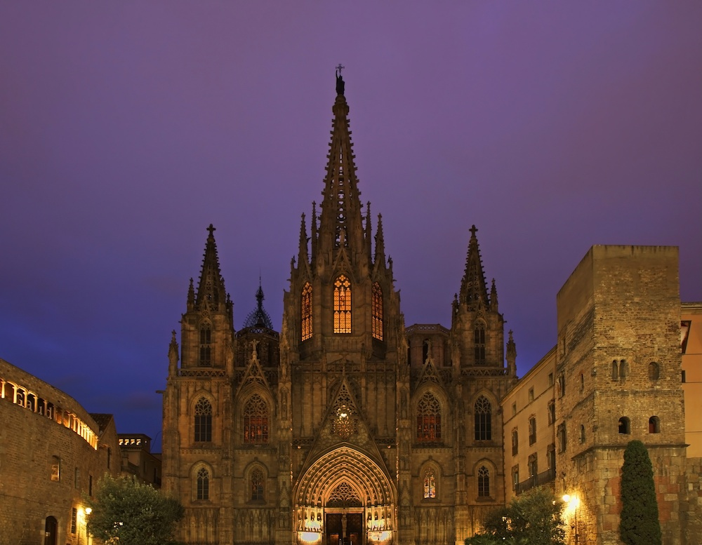 バルセロナ滞在中の必見ポイント 大聖堂