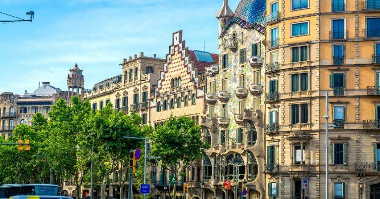Places for Shopping in Barcelona - Passeig de gracia