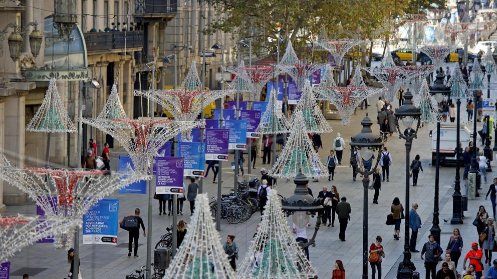 best places for shopping in Barcelona - portal de l'angel