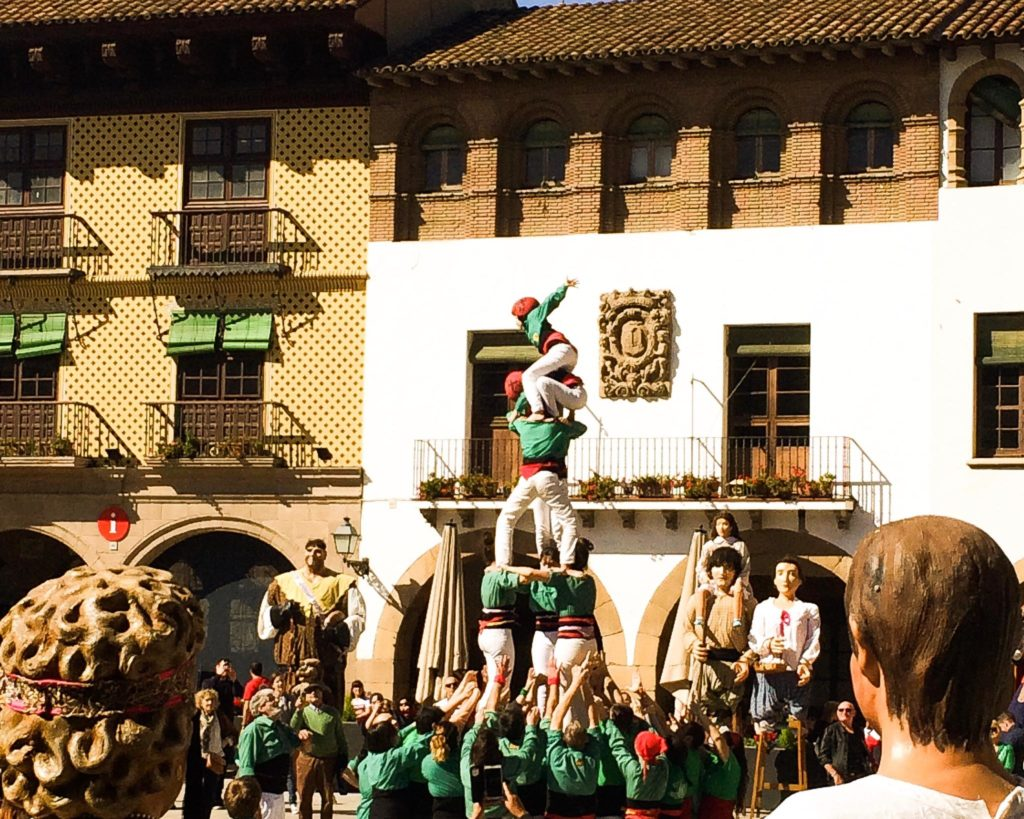 Castells - Barcelona traditions