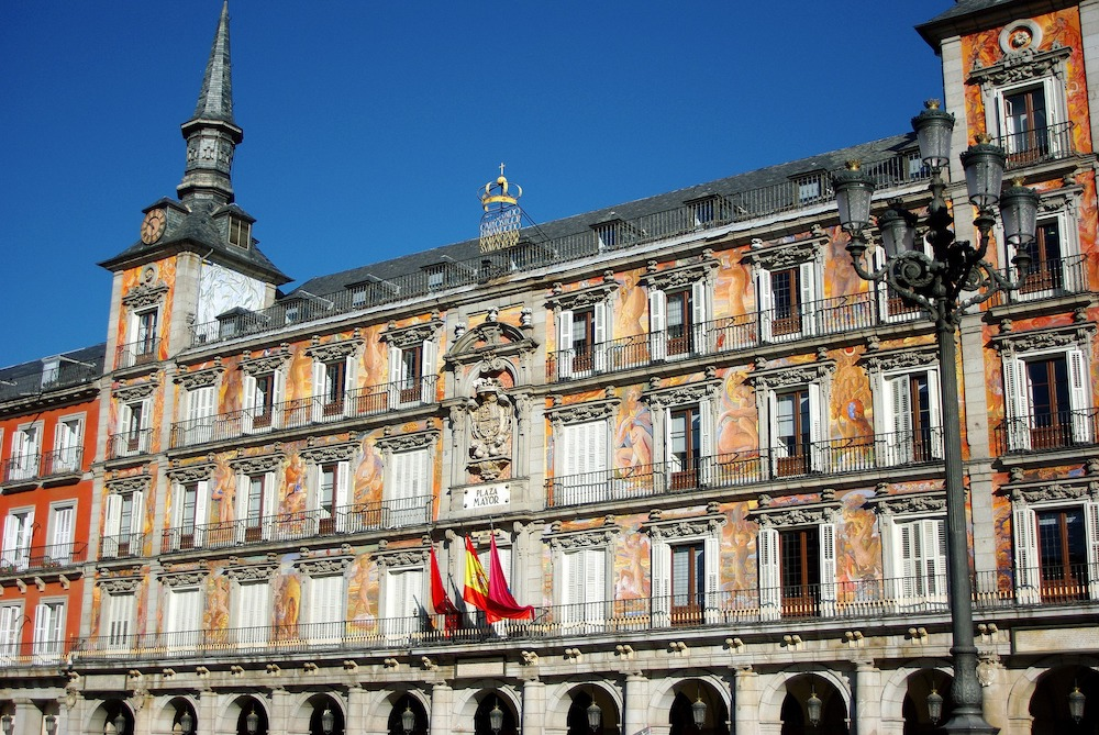 Royal Palace of Madrid & Habsburgs Tour, Plaza Mayor