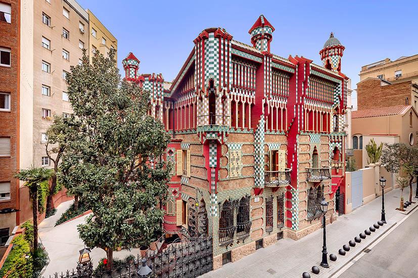 Gaudi Casa Vicens in Barcelona