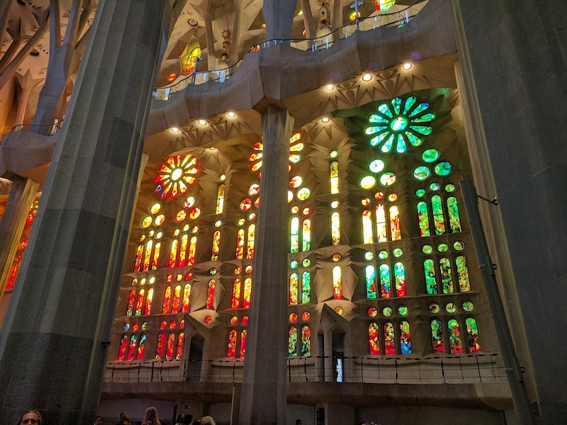 Sagrada Família stained windows