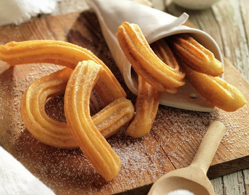Traditional churros