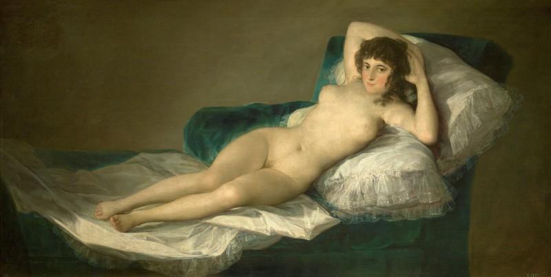 Museums in Madrid: La Maja Desnuda by Goya
