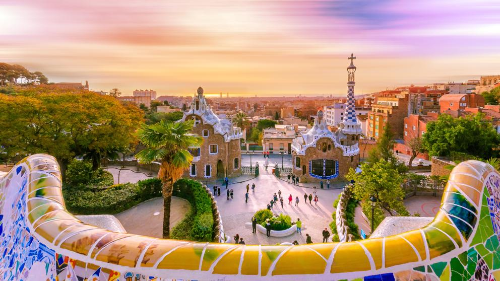 top attractions - park Güell - barcelona in one day