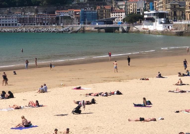 Weather in Spain - summer