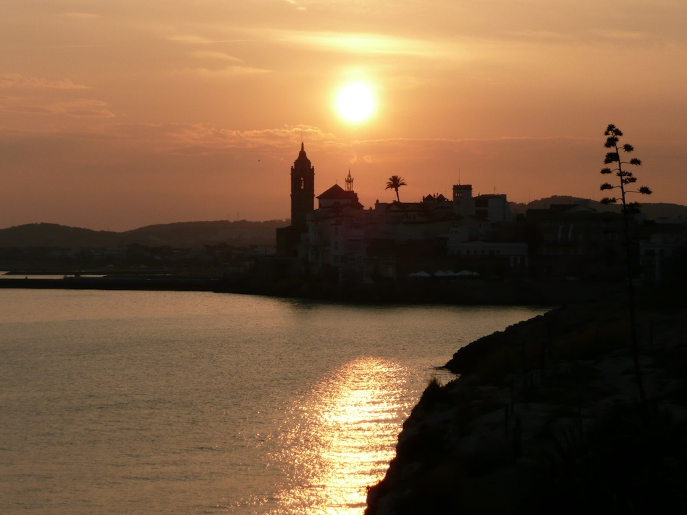 sunset-in-sitges
