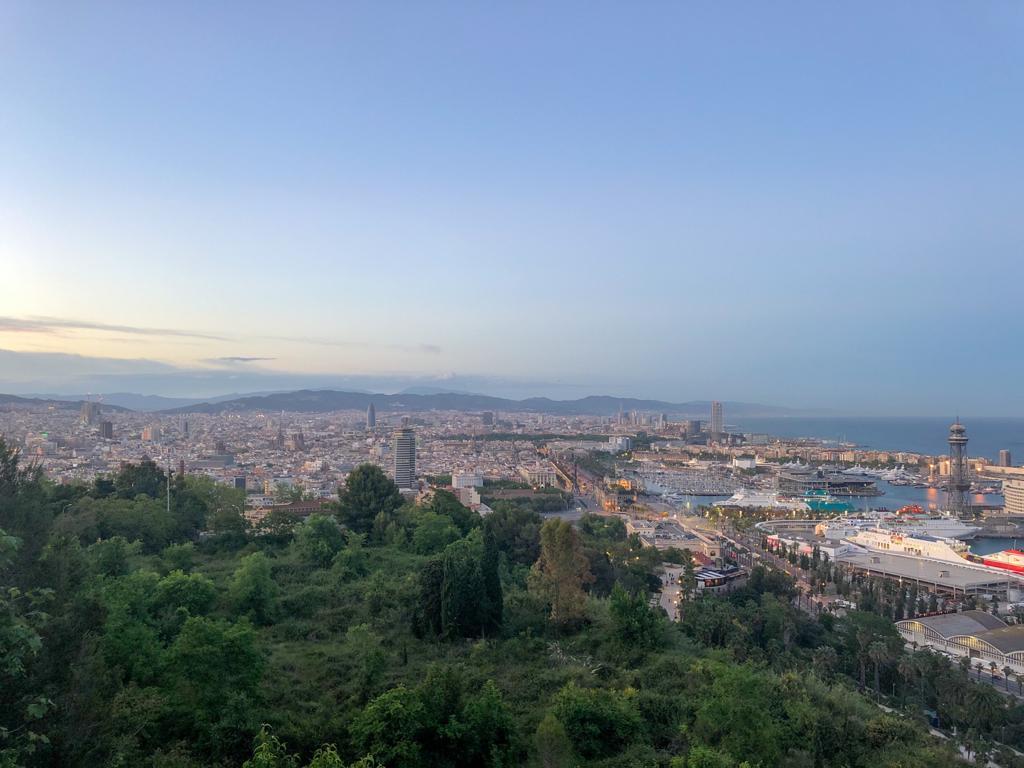 Barcelona-view-from-montjuic