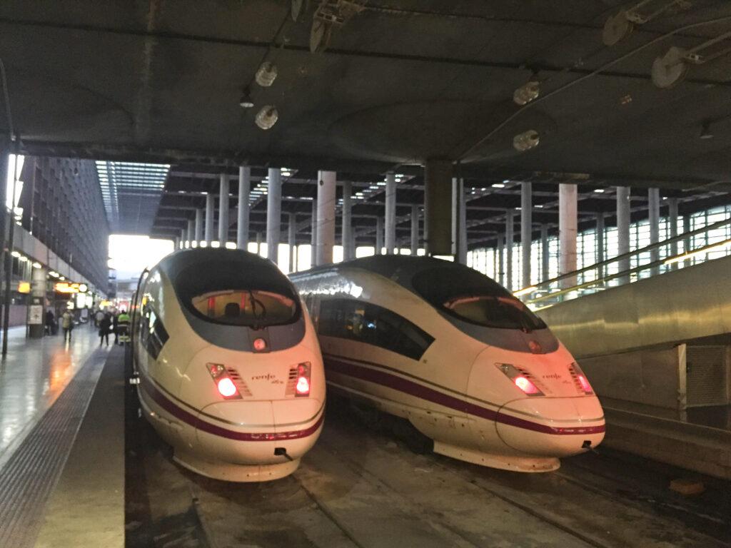 train from Barcelona