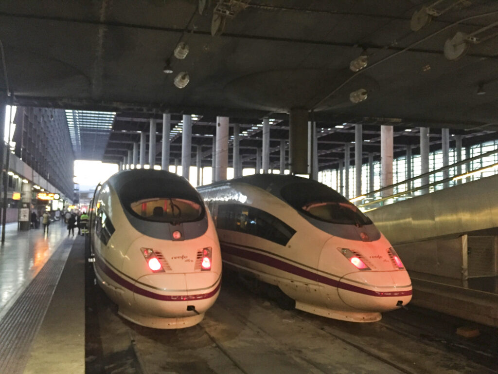 train from Barcelona