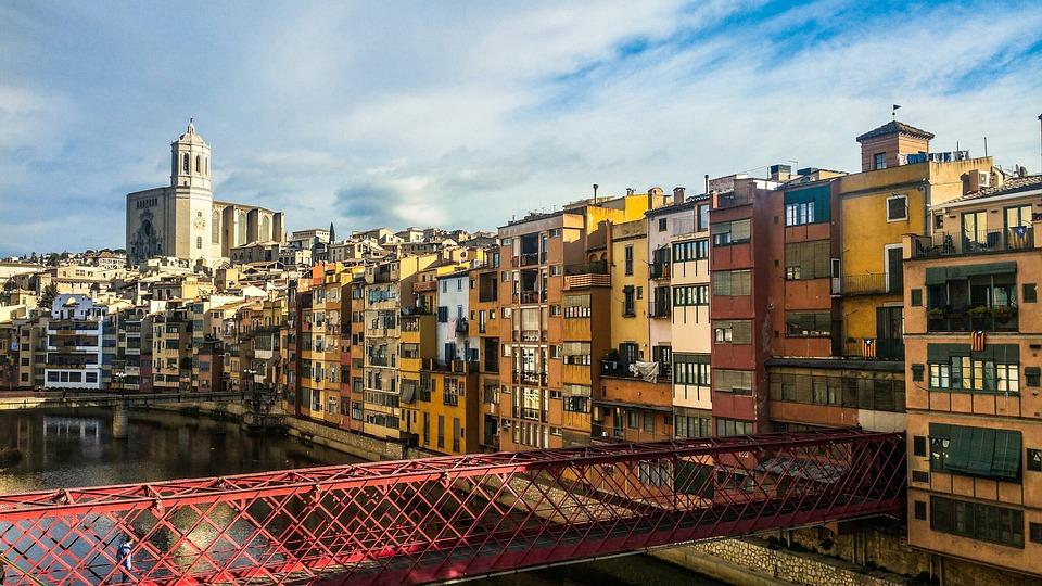 バルセロナから鉄道旅